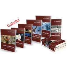 Jeppesen EASA PPL Manuals Complete Set - Colorful