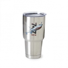 B747-8 X-Ray Graphic Stainless-Steel Tumbler