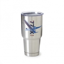 B777X X-Ray Graphic Stainless-Steel Tumbler